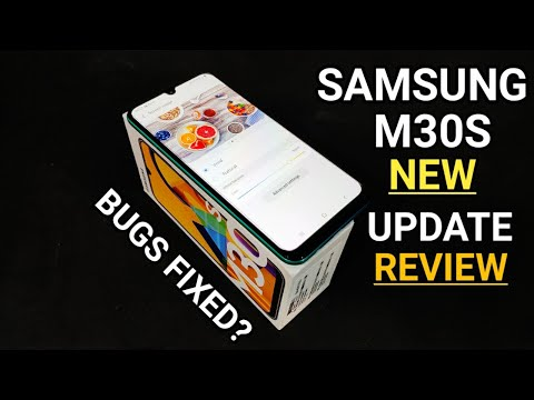 Samsung Galaxy M30S New August Security Update & Features Review | Samsung M30s Bugs  Fixed?