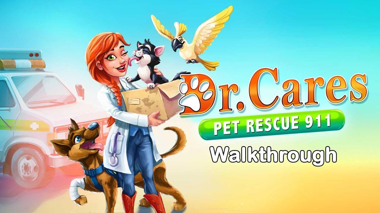 Dr  Cares – Pet Rescue 911 – Level 19