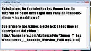 Simon Y Los Wachiturros - Dandole 2012 [Descarga][Completo][1link]