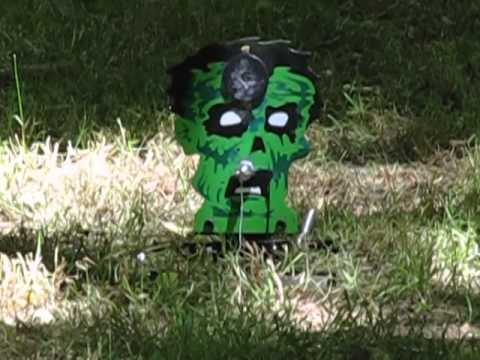 how to make a homemade airsoft gun target