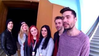 Vanotek feat. The Code & Georgian - impresii dupa prima zi de repetitii Eurovision Roma ...
