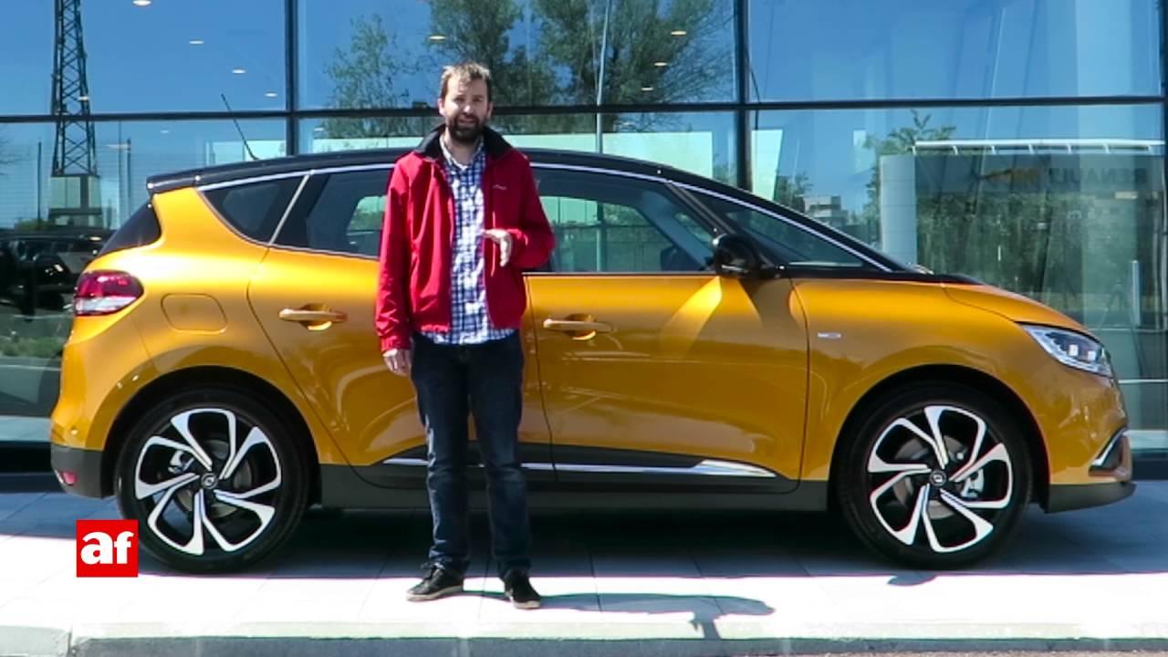 Renault Sc U00e9nic 2016  Review En Espa U00f1ol