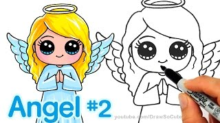 How to Draw an Angel step by step Cute and Easy