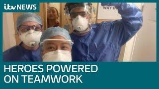 NHS Heroes: Teamwork helping NHS workers through Covid-19 crisis   ITV News