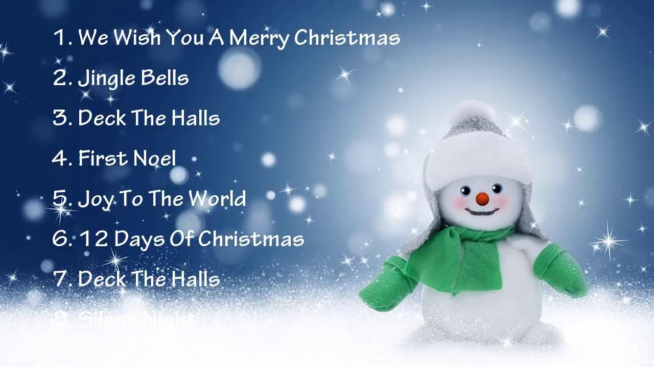 Nhạc Noel Tiếng Anh Hay | Christmas Songs