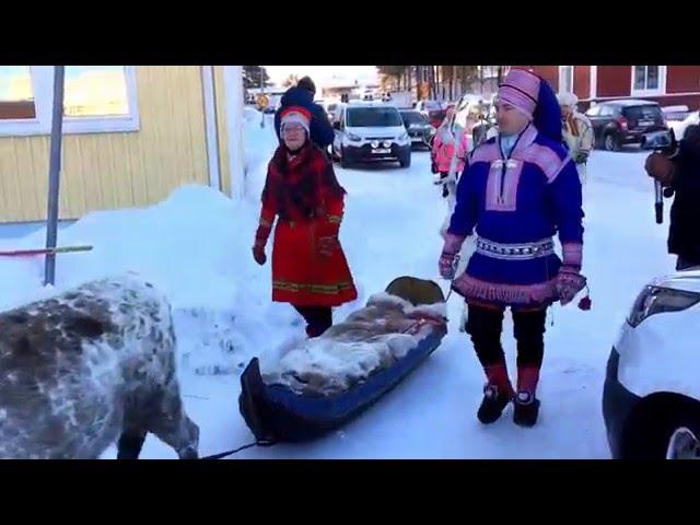 Samisk Vintermarked 2016, Jokkmokk (ny udgave).