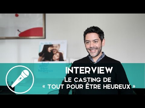 Manu Payet, Audrey Lamy et Aure Atika en interview pour « Tout pour être heureux » !