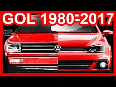 HISTÓRIA Volkswagen Gol, Parati, Saveiro & Voyage 1980-2017 #Gol2017 #Voyage 2017 #CarroConectado