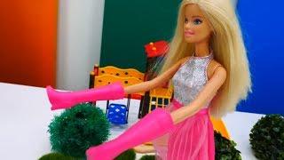 Барби и волшебные сапоги. Мультики для девочек с куклами Барби