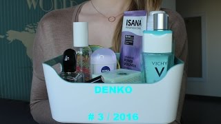 DENKO # 3 / 2016 ➤ Perfumy / Pielęgnacja / Makijaż ♥︎♥︎♥︎