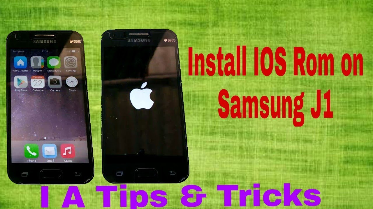 how to install ios rom on samsung j1| custom rom| cyanogenmod| j100h