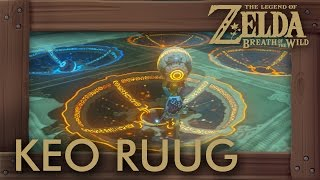 Zelda Breath of the Wild - Keo Ruug Shrine (Solution & All Chests)