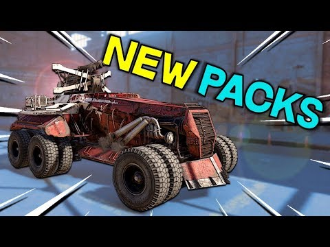 New Echo Pack Test Server First Look -- Crossout