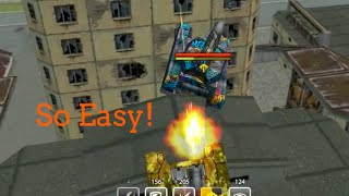 Tanki Online Easy Parkour Anyone Can Do #2!