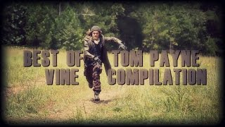 Best of Tom Payne from The Walking Dead vine compilation
