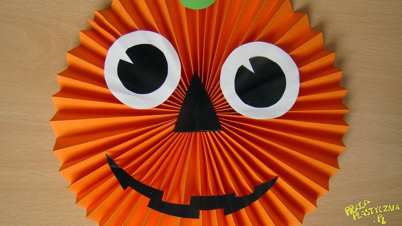 Jak zrobi dyni z papieru youtube for Halloween decorations u can make