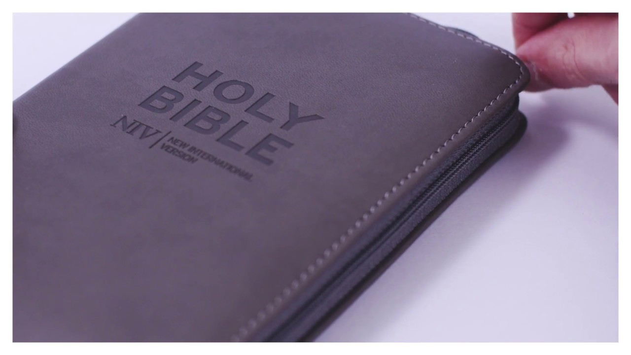 NIV Pocket Charcoal Soft tone Bible