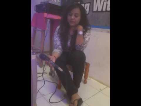 Dont let me down song by Ashka joshi on karaoke😊
