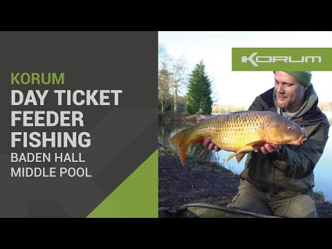 Day Ticket Feeder Fishing - Baden Hall Middle Pool