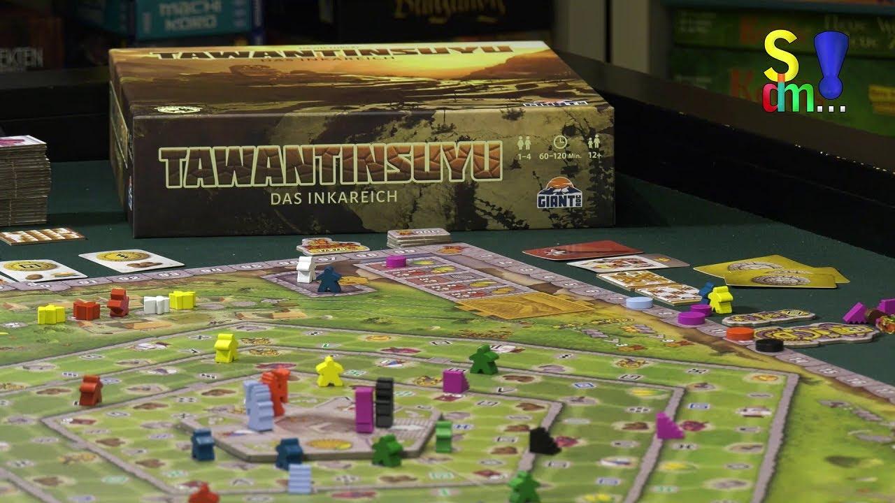 Spiel doch mal TAWANTINSUYU! - Brettspiel Rezension Meinung Test #360