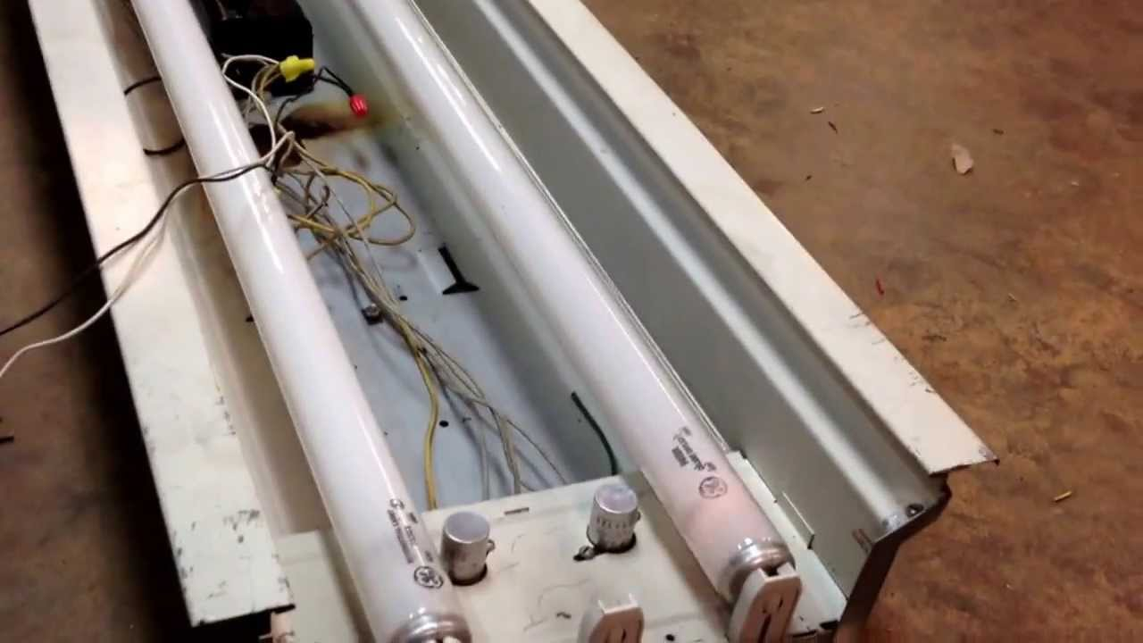Guth preheat fluorescent fixture & 1950s? Guth preheat fluorescent fixture - YouTube azcodes.com