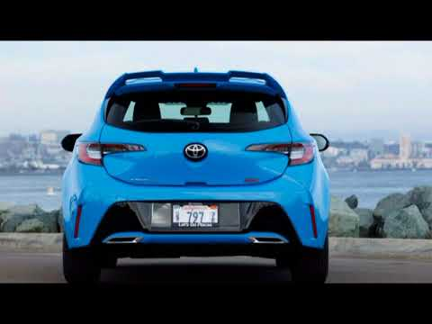 AMAZING! 2019 Toyota Corolla Hatchback First Drive Review