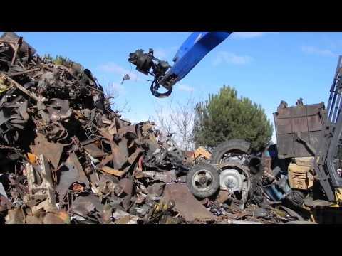 Гидроножницы по металлу AS030 - утилизация автомобилей и тракторов