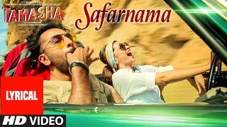 'SAFARNAMA' Tamasha Song (LYRICAL) | Ranbir Kapoor, Deepika Padukone | T-series Thumb