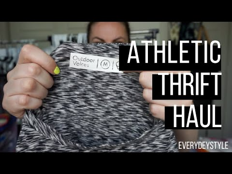 Giant Active  + Athletic Wear Thrift Haul to Resell on Poshmark | EVERYDEYSTYLE