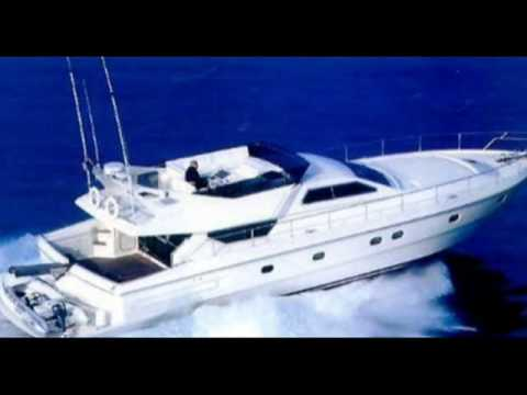 Charter motor yacht Three K in Greece.wmv