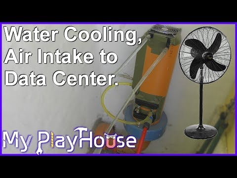 Experimenting with Water Cooling, Air Intake to Data Center  699