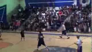 Rat in the Power 106 fundraiser b-ball game at J-Town