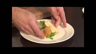 Завтрак Жареный сыр с беконом