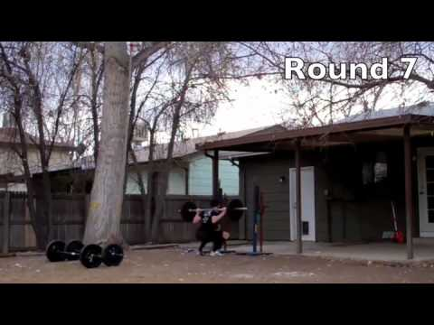 "CrossFit - ""Thompson"" Hero WOD Demo with Kevin Montoya"