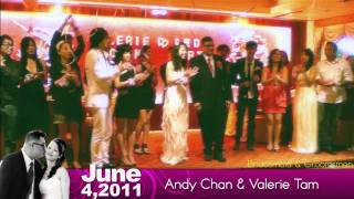 Andy Chan And  Valerie Tam's Wedding 1/2