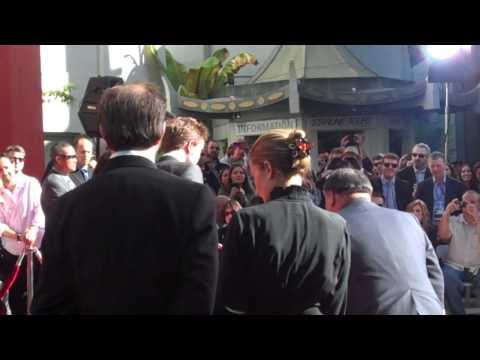 Robert Pattinson, Kristen Stewart, and Taylor Lautner at Grauman's
