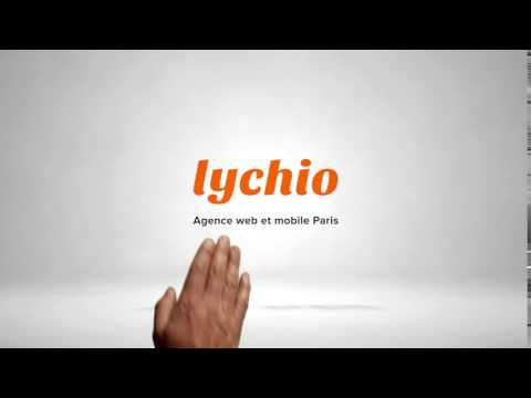 Agence Web et Mobile Paris - Lychio.com Logo Intro Video
