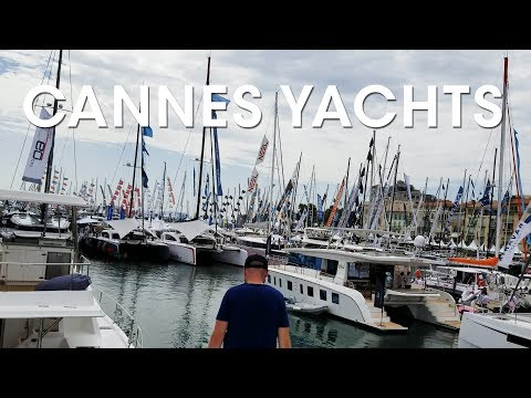 Cannes Yacht Show 2018 - Leopard Catamaran Walkthroughs with the Wandersons