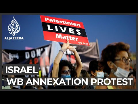 Israel: Thousands rally against West Bank annexation plan