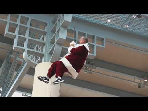 Mall Santa is James Bond