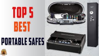 Top 5 Best Portable Safes in 2020