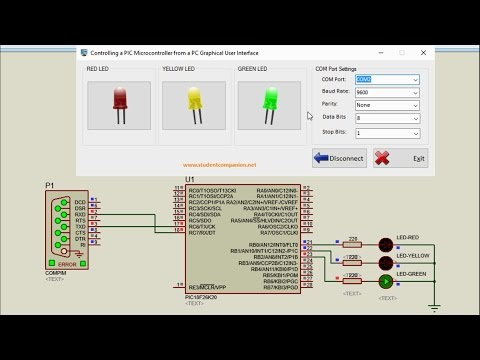 How to Control a PIC Microcontroller from a PC GUI