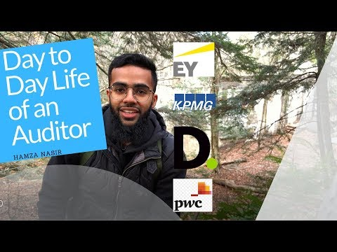 Life of an Auditor (PwC, KPMG, EY, Deloitte)