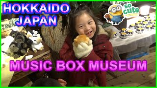 New 2019 Otaru Music Box Museum, Hokkaido, Japan - Main Building Walk BARU