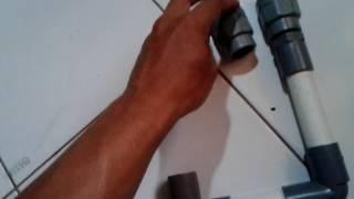 Cara membuat Pompa Hidram/Pompa air tanpa listrik part 1