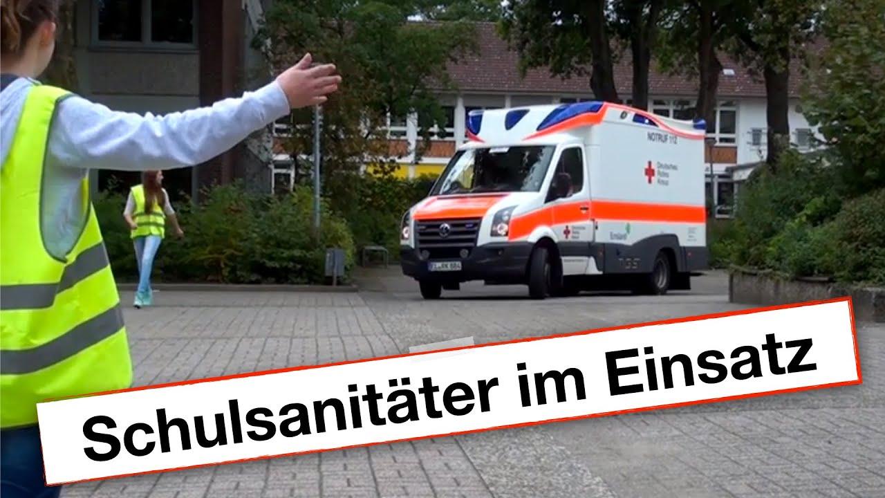DRK Schulsanitäter im Einsatz - YouTube | {Schulsanitäter 41}