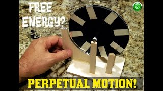 "Perpetual Motion Machine ~ ""FREE ENERGY"" Test"