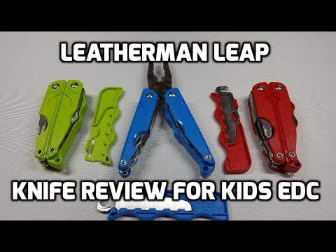 Leatherman Leap Multi-tool Unboxing and Review for Kid's EDC (Every Day Carry)