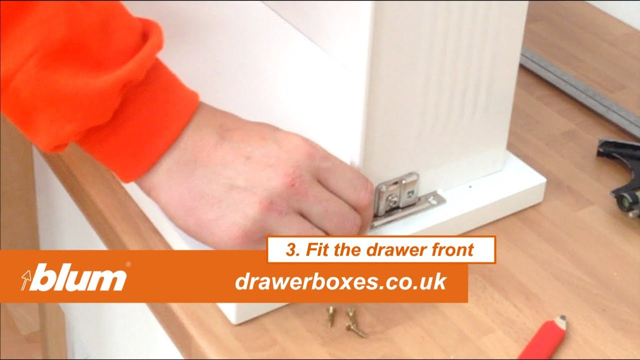 Superior Blum Metabox   Deep Replacement Kitchen Drawer Box   3 Of 3 Fit The Drawer  Front   YouTube