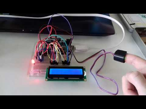 Linking LCD screen to BPM reading with LED output